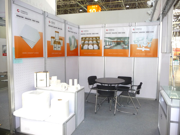 CCEWOOL ceramic fiber products were exhibited at INDOMETAL Jakarta Indonesia