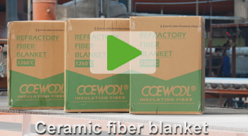ceramic fiber blanket video