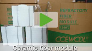 ceramic fiber module video