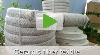 ceramic fiber textile video