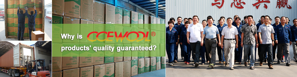 Cooperating with the second largest production base in Asia---Minye Refractory Fiber, a powerful guarantee for CCEWOOL ceramic fiber quality