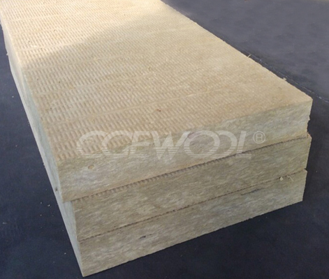 High compression strength Flat roof insulation rock wool board