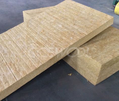 Curtain wall insulation rock wool board for Mineral wool wall insulation