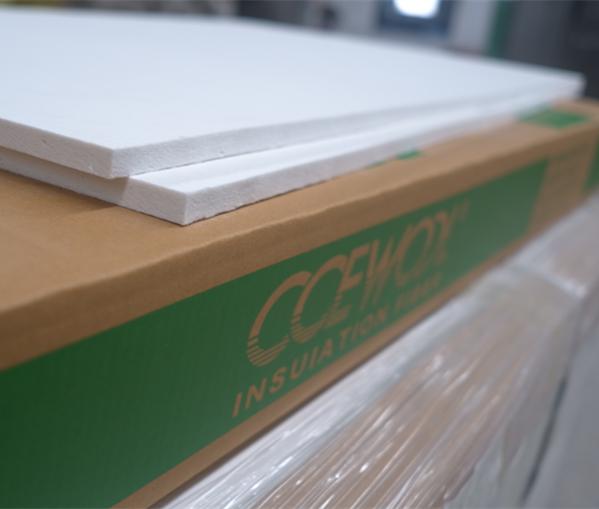 Ceramic fiber hearth board